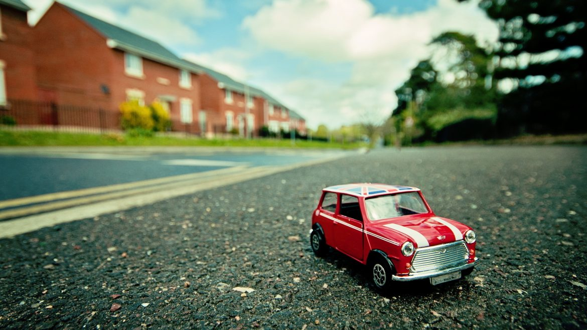Mini Cooper Toy Car