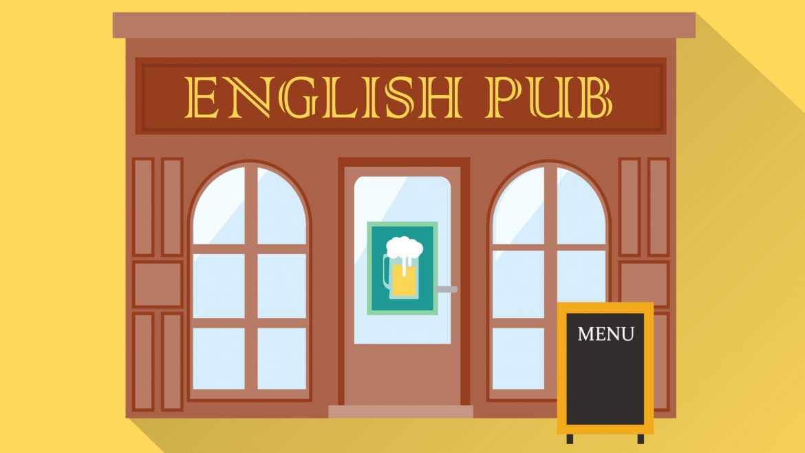 English Pub Illustration